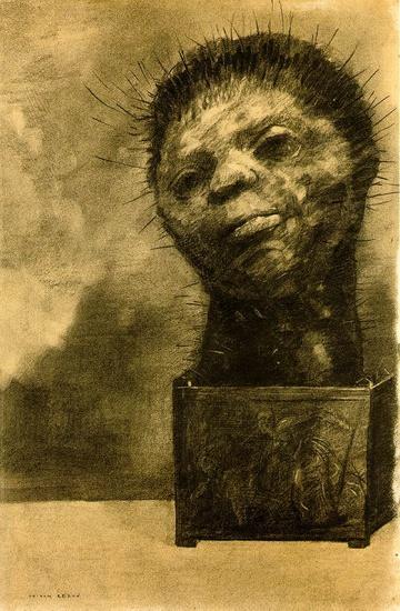 Odilon Redon - Cactus Man